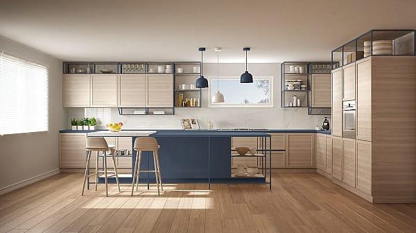 Wide planks laminate flooring image