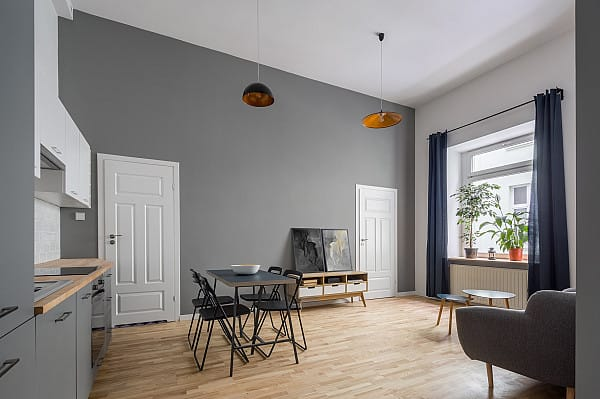 Laminate flooring for small apartment image