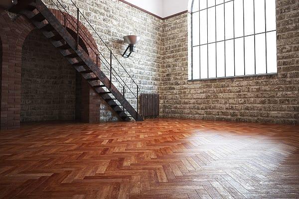 Parquet timber flooring image