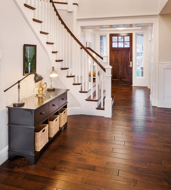 Pre-finished timber flooring image