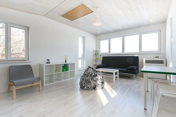 Vinyl flooring simple design