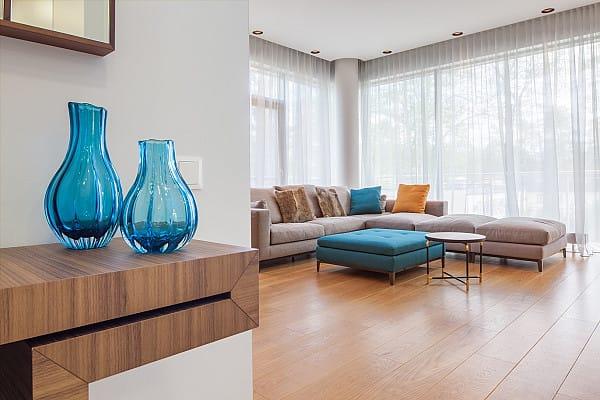 New laminate flooring installation image