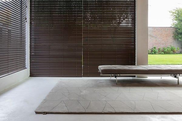 Carpet on concrete flooring