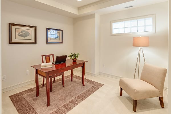 Carpet flooring for a home office