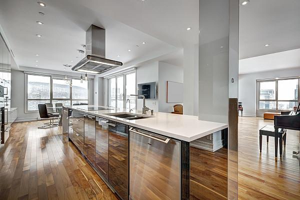 Stylish engineered flooring image