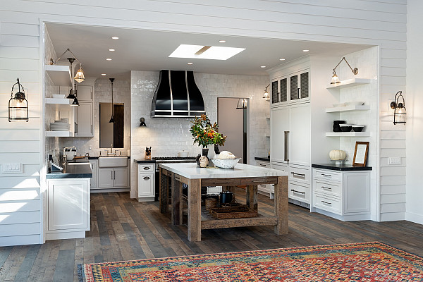 Recycled timber floor image