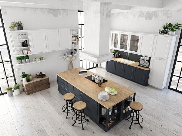 Laminate flooring for kitchen image