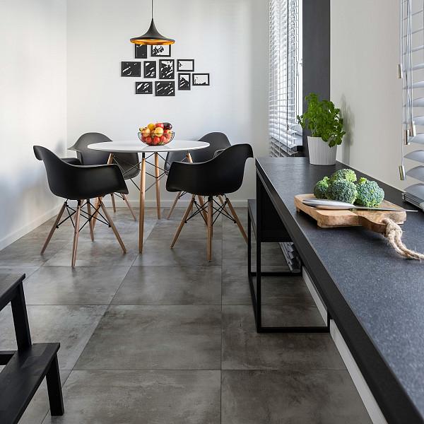 Porcelain tile floor image