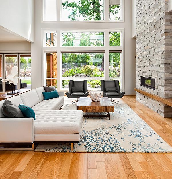 Natural Oak Engineered flooring image