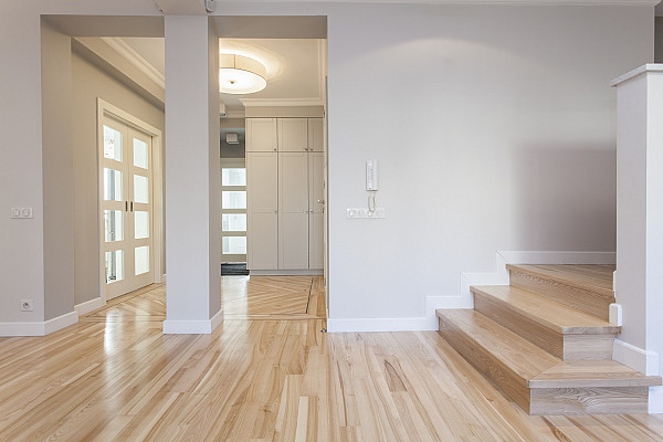 New built timber flooring image