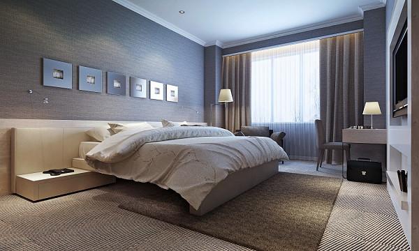 Hotel room carpet flooring image