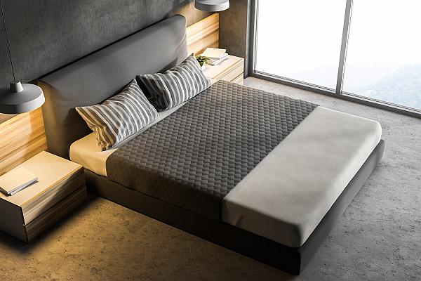 Grey carpet for a bedroom image