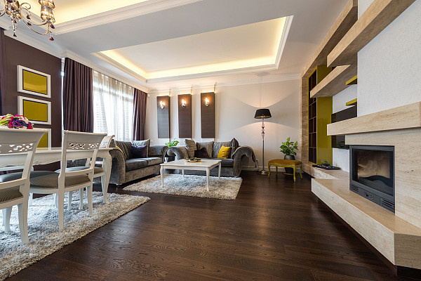 Oak timber flooring image