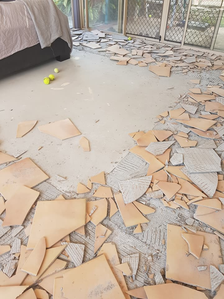 Tile removal image