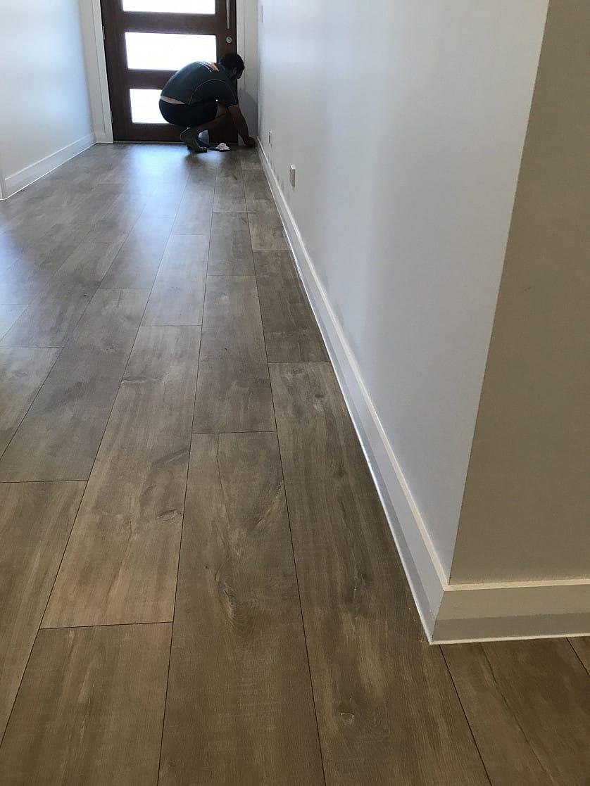 Flooring sealing