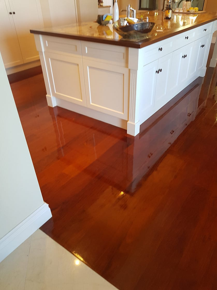 Timber floor cleaning and restoration